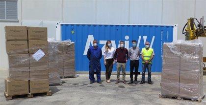 Coronavirus.- La Fundación Grupo Azvi dona a los hospitales 60.000 mascarillas FFP2