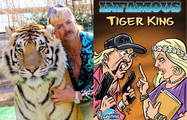 Tiger King tendrá su propio cómic contra el matrato animal