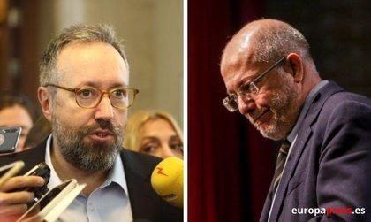 """Girauta acusa a Igea de haber """"reventado"""" Cs desde dentro"""