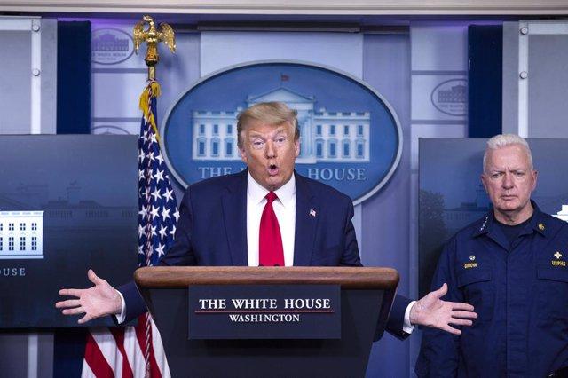 """Coronavirus.- Trump responde a Obama diciéndole que no tuvo """"ni idea"""" en el """"des"""