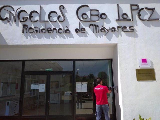 Instalación de lectores faciales en la residencia de mayores Ángeles Cobo López