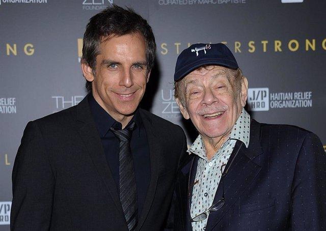Muere Jerry Stiller, actor y padre de Ben Stiller, a los 92 años