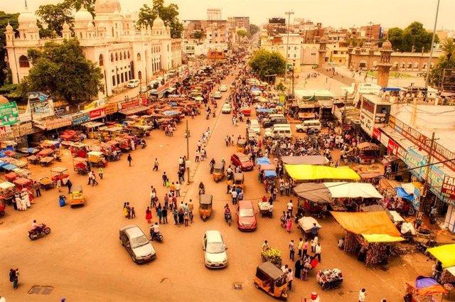 Imagen de archivo de la ciudad de Hyderabad, en la Índia, donde se ha desarrollado el estudio de ISGlobal
