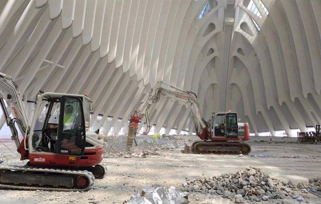 """La Fundación """"la Caixa"""" reanuda las obras de construcción de CaixaForum València"""