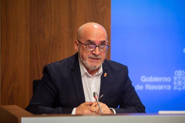 Juan Cruz Cigudosa, consejero de  Universidad, Innovación y Transformación Digital del Gobierno de Navarra