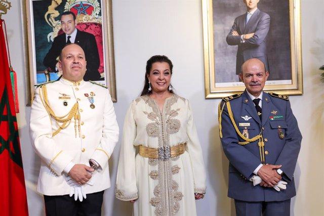 Coronavirus.- La embajadora de Marruecos resalta la solidaridad y el espíritu in