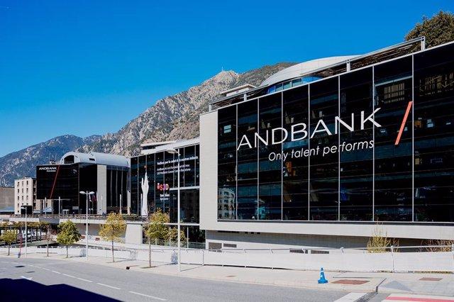 La sede central de Andbank en Escaldes-Engordany.