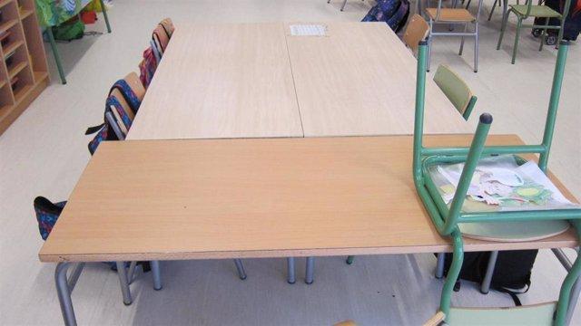 Imagen de recurso de un aula de un colegio de Infantil y Primaria.