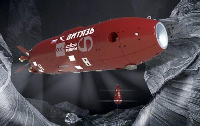 Un robot autónomo ruso baja de los 10.000 metros en la Fosa de las Marianas