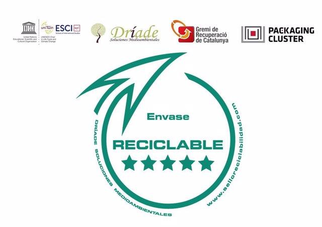 Segell de reciclabilidad impulsat per entitats del sector de la recuperació