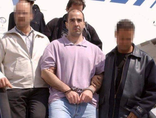 El preso de ETA Arri Pascual en una foto de archivo tras su detención