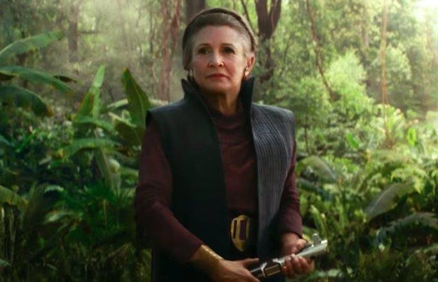 Leia en Star Wars: El ascenso de Skywalker