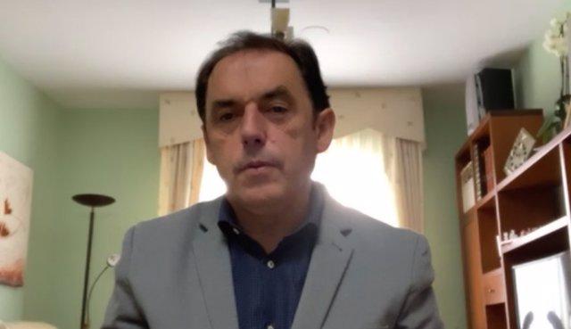 Rueda de prensa del presidente de la Diputación de Soria, Benito Serrano.