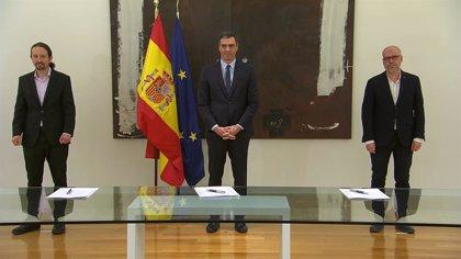 Gobierno y agentes sociales firman el acuerdo para prolongar los ERTEs