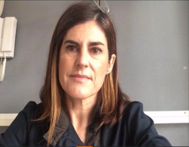 La candidata a Lehendakari por Elkarrekin Podemos, Miren Gorrotxategi