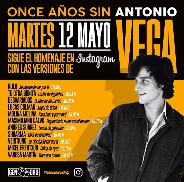Homenaje a Antonio Vega