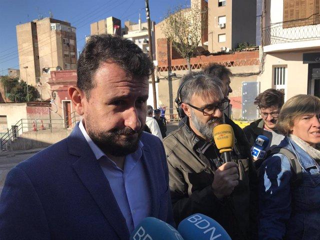 El tinent d'alcalde de Badalona (Barcelona) Rubèn Guijarro, en una imatge d'arxiu.