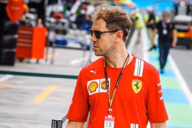 AV.- Fórmula 1.- Sebastian Vettel abandonará Ferrari a final de temporada
