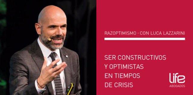 COMUNICADO: Razoptimismo: Ser constructivo y optimista en tiempo de crisis con L