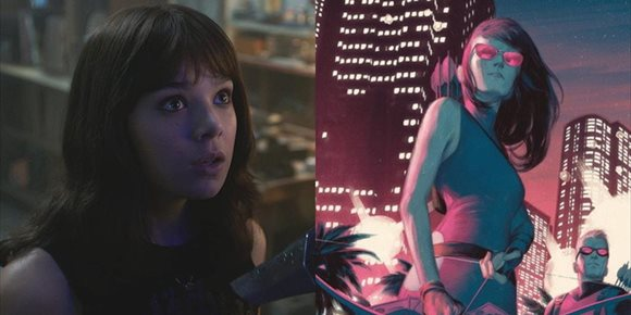 1. Hailee Steinfeld habla de su participación Hawkeye, la serie de Marvel de Ojo de Halcón como Kate Bishop