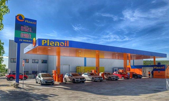 Estación de Plenoil en Vicálvaro (Madrid)