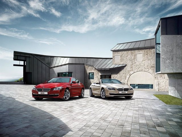 Nuevos modelos de BMW en la flota de Hertz.