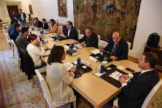 Reunión del Consejo de Gobierno de C-LM.