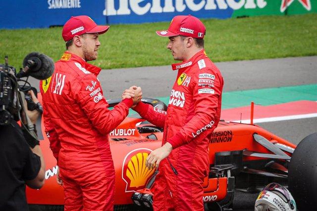 "Fórmula 1.- Leclerc agradece el ""gran honor"" de compartir equipo con Vettel pese"