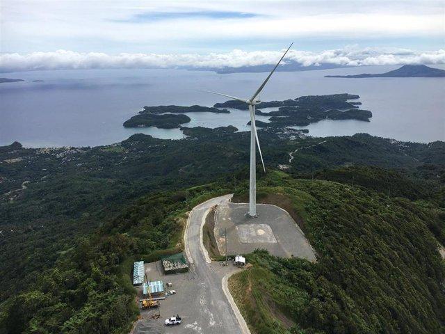 Proyecto de energía híbrida de Siemens Gamesa en Filipinas