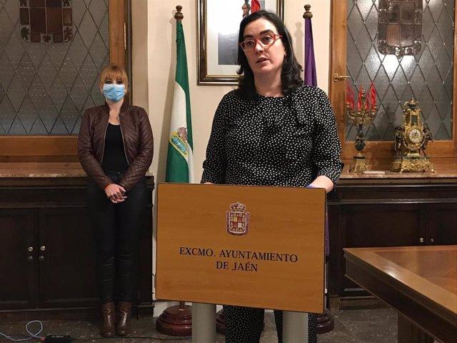 La concejala de Economía y Hacienda en el Ayuntamiento de Jaén, María Orozco