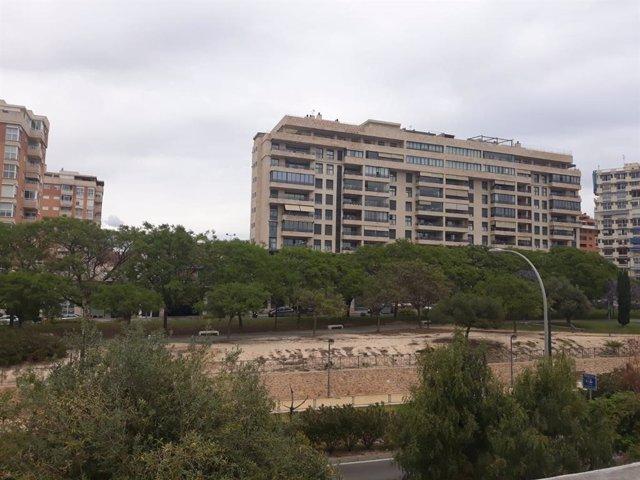 Parque de la calle Goleta, en Alicante.