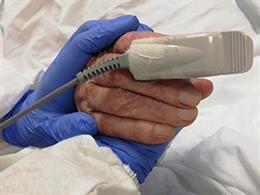 Pacient en un centre sanitari