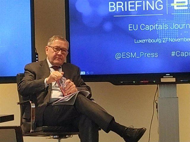 Klaus Regling, director gerente del MEDE