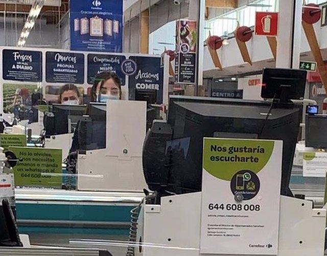 Carrefour Brasil gana 31 millones en el primer trimestre, un 17,7% menos