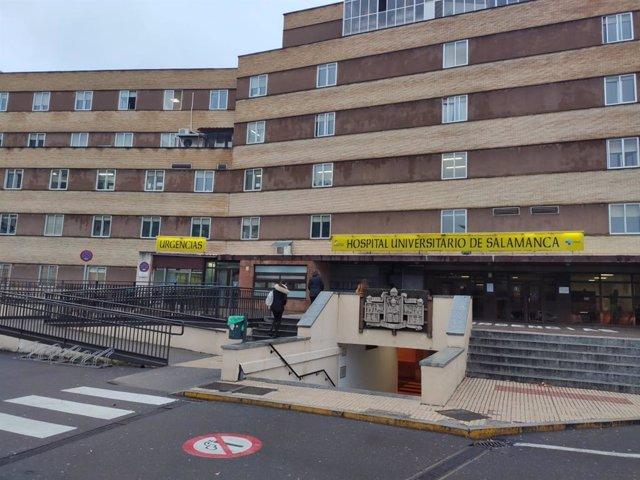 Coronavirus.- El Hospital Clínico Universitario de Salamanca, a pleno rendimiento a las puertas de su mudanza