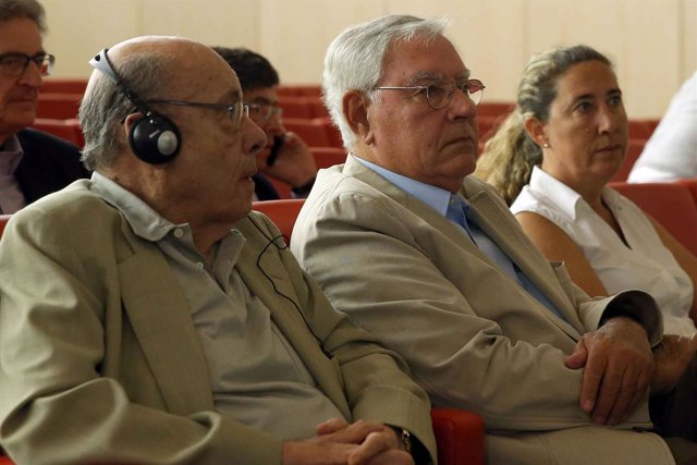 Fèlix Millet, Jordi Montull i Gemma Montull en l'última sessió del judici del cas Palau