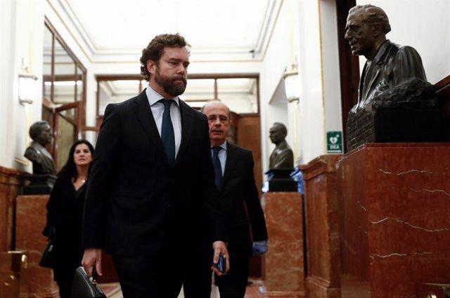 El portavoz de Vox en el Congreso Iván Espinosa de los Monteros