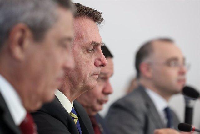 Brasil.- Bolsonaro pidió un cambio en la dirección de la Policía de Río para evi