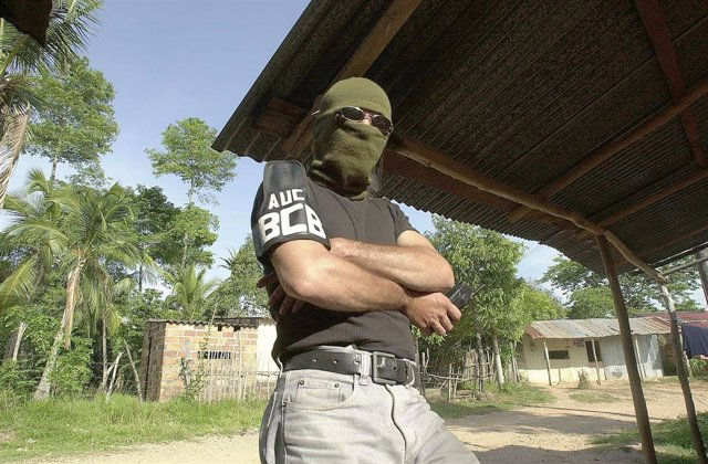 Un comandante de las AUC en Colombia