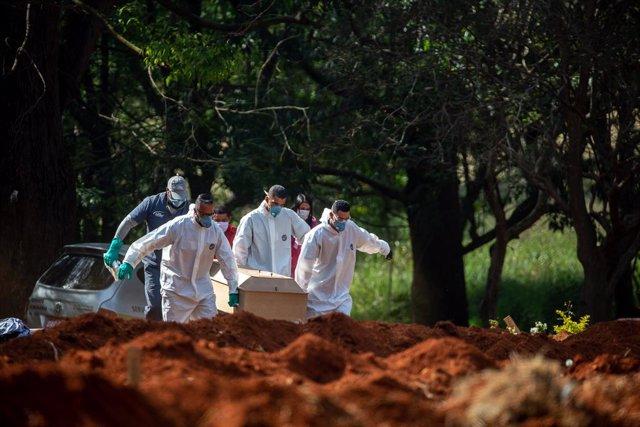 Coronavirus.- Brasil supera a Alemania en casos de Covid-19 y ya es el séptimo p