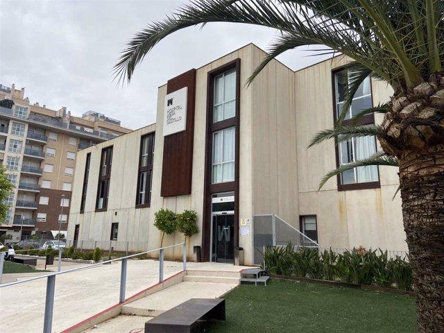 Imagen del exterior del Hospital Mesa del Castillo