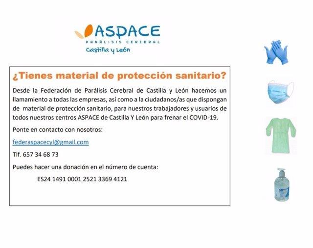 Mensaje reenviado por Aspace CyL para pedir colaboración.