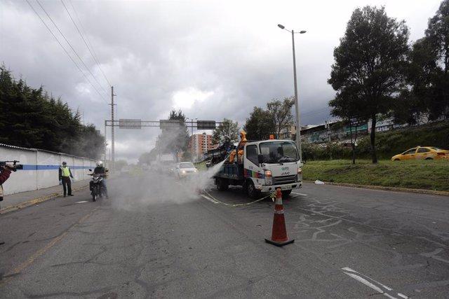 Coronavirus.- La Fiscalía ecuatoriana investiga por corrupción a una antigua res