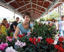 Mercado de las Flores en Bilbao