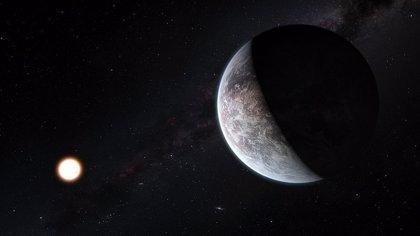 Una supertierra única aparece hacia el centro de la galaxia