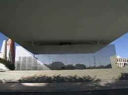 Antiguo pabellón de Francia de la Expo 92, donde se ubica El Cubo.