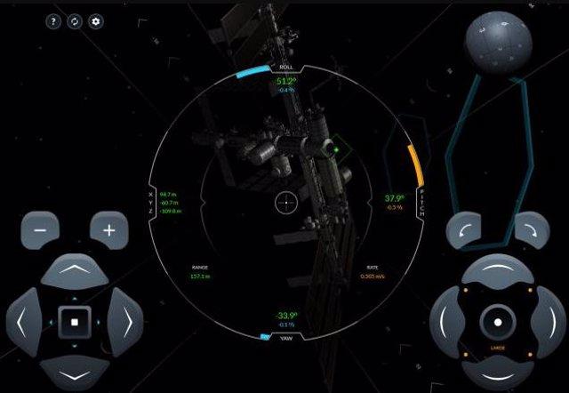 Atraca en la Estación Espacial Internacional con una Crew Dragon