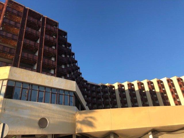 Una residencia de mayores de Cádiz