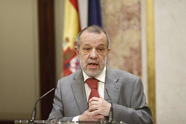 Intervención en el Congreso del Defensor del Pueblo Francisco Fernández Marugán, por la presentación del Informe Anual del Defensor del Pueblo del 2017
