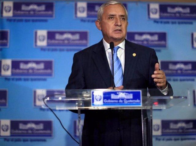Coronavirus.- Niegan el arresto domiciliario al ex presidente de Guatemala Otto